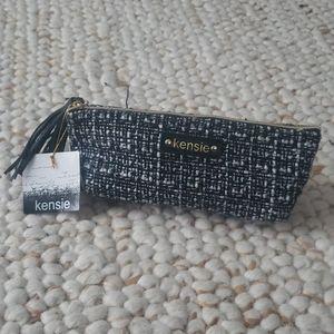 KENSIE Boucle Cosmetic Bag NEW